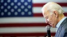 Former Vice President Joe Biden at his campaign