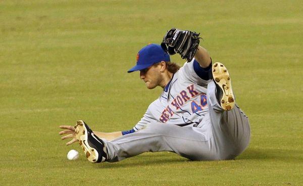 New York Mets left fielder Jason Bay is