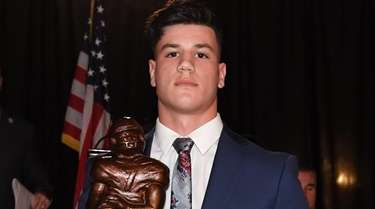 Thorp Award Winner, Dan Villari of Plainedge High
