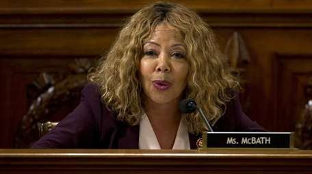 Rep. Lucy McBath speaks during a House Judiciary