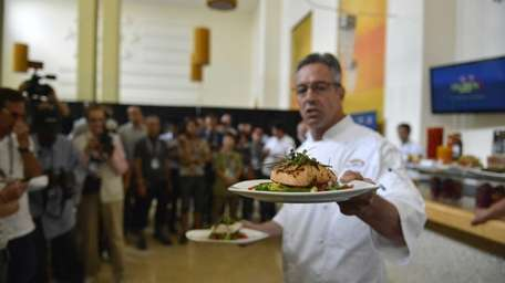 Executive Chef Jim Abbey of Levy Restaurants is