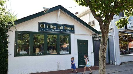 The Old Village Hall Museum in Lindenhurst, run