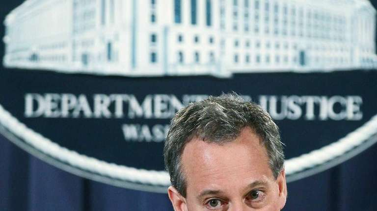 New York Attorney General Eric Schneiderman is reported