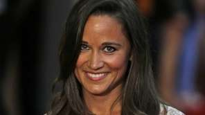 Pippa Middleton, seen here in London in August,