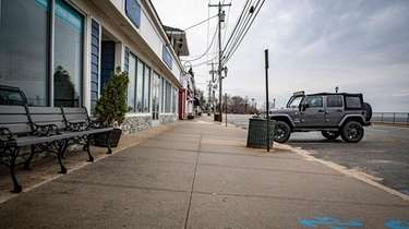 Bayville's current code on sidewalks only requires residential