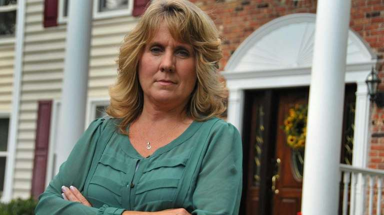 Oyster Bay homeowner Susan Kelly has seen her