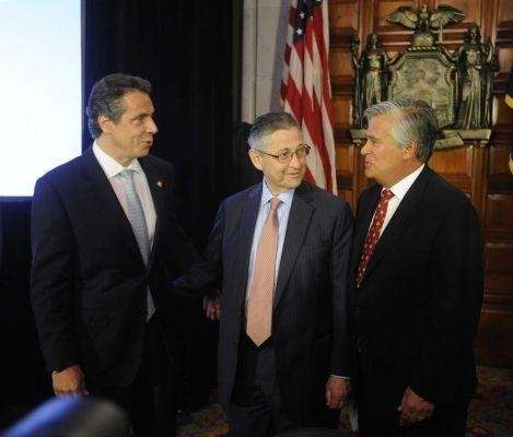 Gov. Andrew M. Cuomo, Speaker Sheldon Silver and