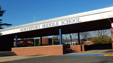 Northport Middle School in Northport. Dec. 27, 2014...