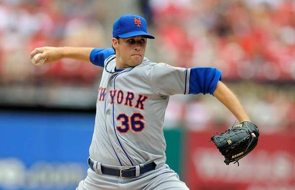 Collin McHugh #36 of the New York Mets