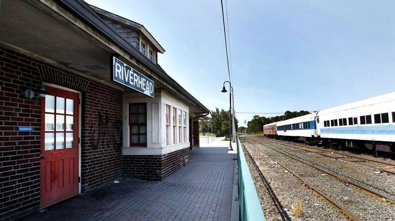 An exterior view of the 1909 station in