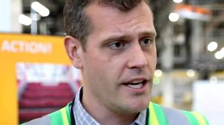 Chris Colvin, general manager of Amazon's JFK8 fulfillment