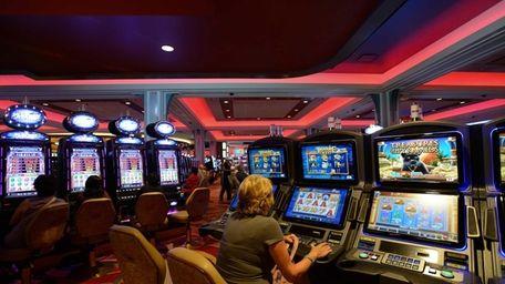 At the Resort World Casino in Jamaica, Queens,