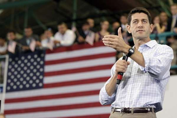 Republican vice presidential candidate, Rep. Paul Ryan, R-Wis.,