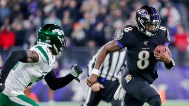 Lamar Jackson and the Ravens ran away from