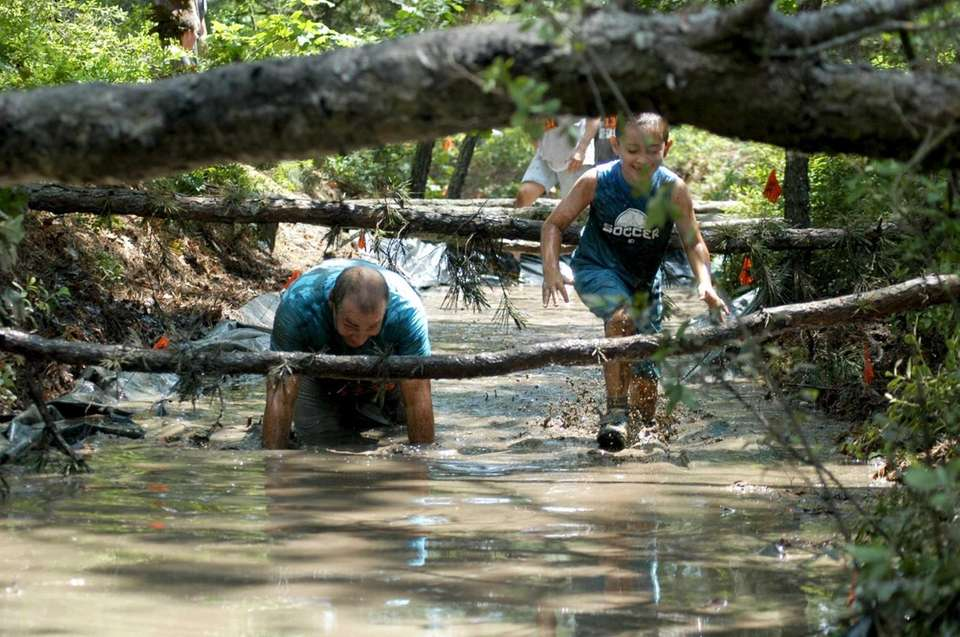 The Survival Race is a family-focused 5K obstacle