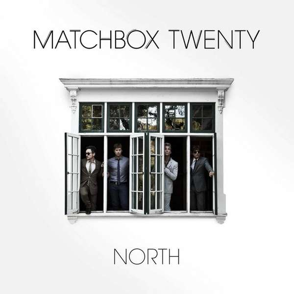 "Album cover titled ""North"" by Matchbox Twenty."