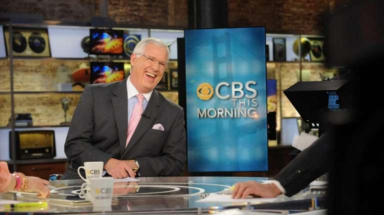 John Miller has a laugh with co-host Charlie