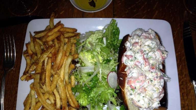 Lobster roll at The 1770 House in East