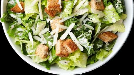 The kale Caesar salad at Chopt, which opened