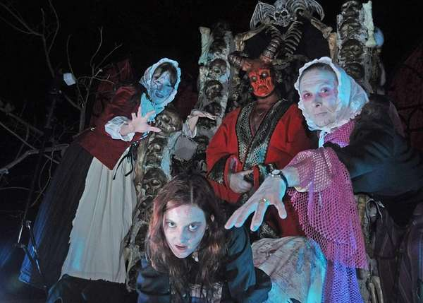 Horseman's Hollow at Philipsburg Manor sees a gruesome