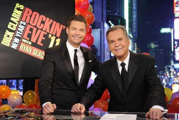 Dick Clark and Ryan Seacrest celebrate 40 years