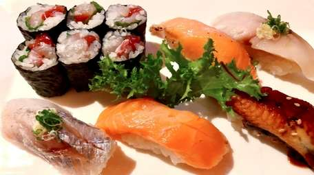 Sushi at Yori Japanese Cuisine, which has opened