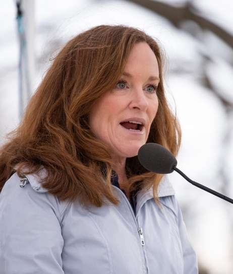 Rep. Kathleen Rice held a news conference at