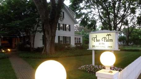 The Palm at the Huntting Inn in East