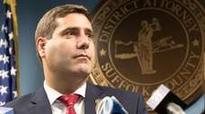 Suffolk County District Attorney Timothy D. Sini at