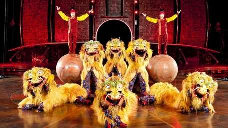 Cirque Du Soleil comes to Nassau Coliseum Sept.