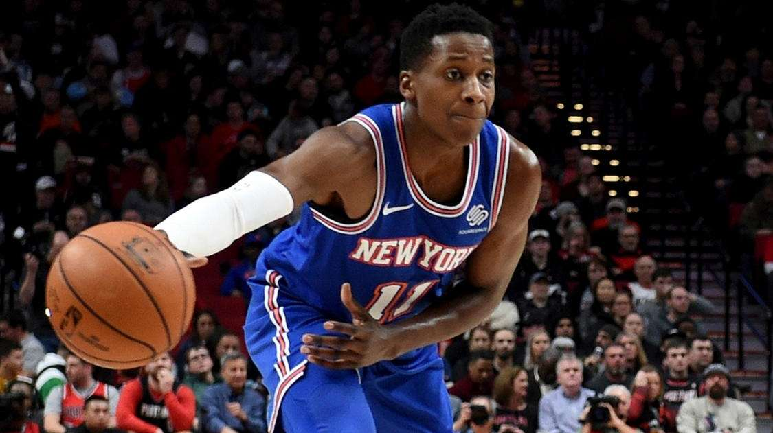 Popper: Ntilikina beginning to show some positive signs