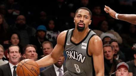 Spencer Dinwiddie has scored 20 or more points