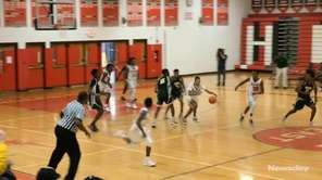 Westbury defeated Half Hollow Hills East, 63-61, in