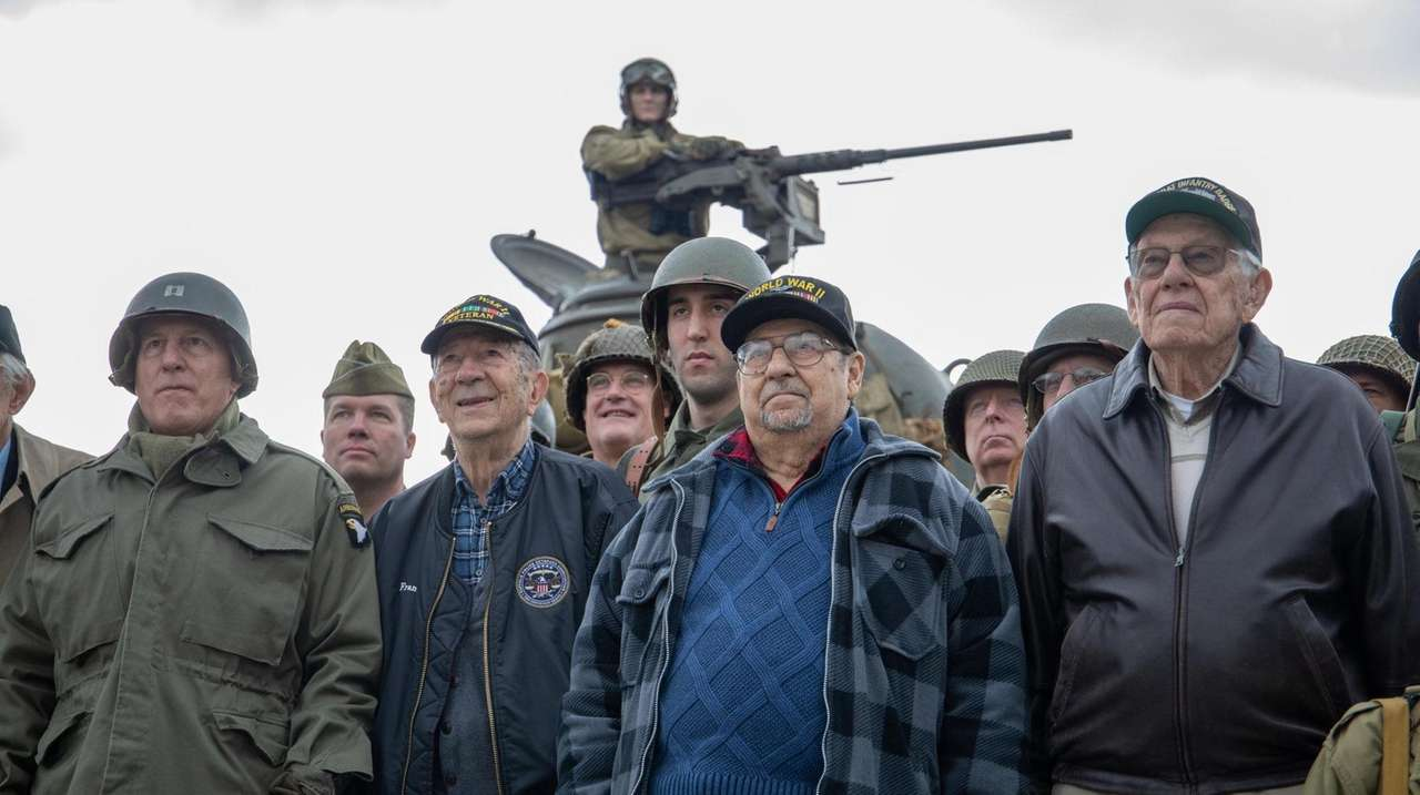 Five veterans who survived one of World War