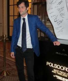 """Gossip Girl? actor Penn Badgley celebrates Italian menswear"