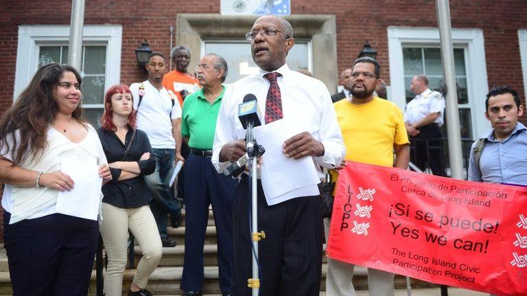 Hempstead Village Mayor Wayne J. Hall, Sr. during