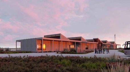 Conceptual rendering of the Jones Beach Energy and
