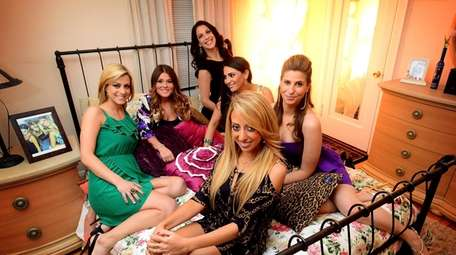 "Tthe cast of the Bravo reality show ""Princesses:"
