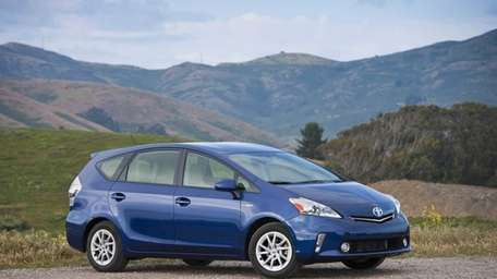 The 2012 Prius V is 6 inches longer,