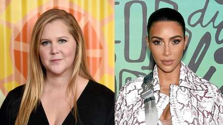 Comedian Amy Schumer, left, and reality-TV star and