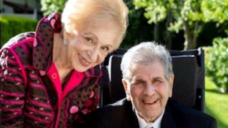 Rosalie and Barry Berger are celebrating their 60th