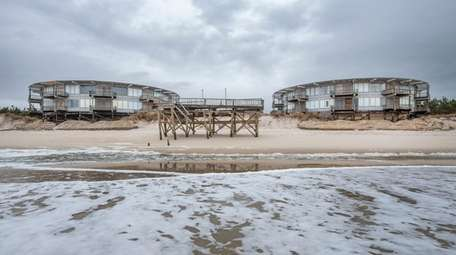 Residents of Round Dune said their buildings are