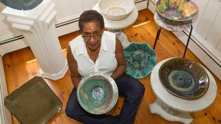Gloria Kennedy, who became enamored of pottery on