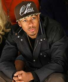 Nick Cannon is front row Thursday at the