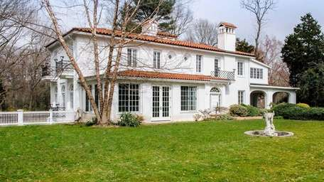 A 1912 Mediterranean style mansion in Sands Point,