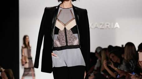 The BCBG MAX AZRIA Spring 2013 collection is