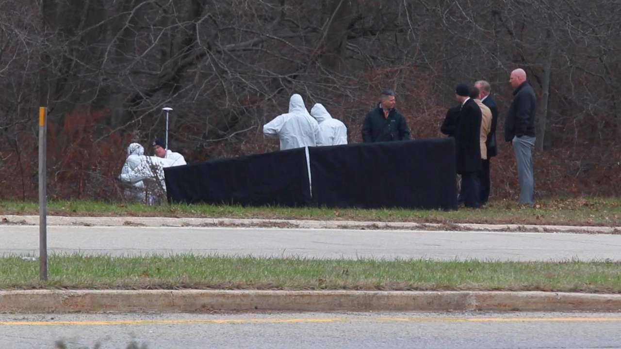 The body of a dead man found Monday