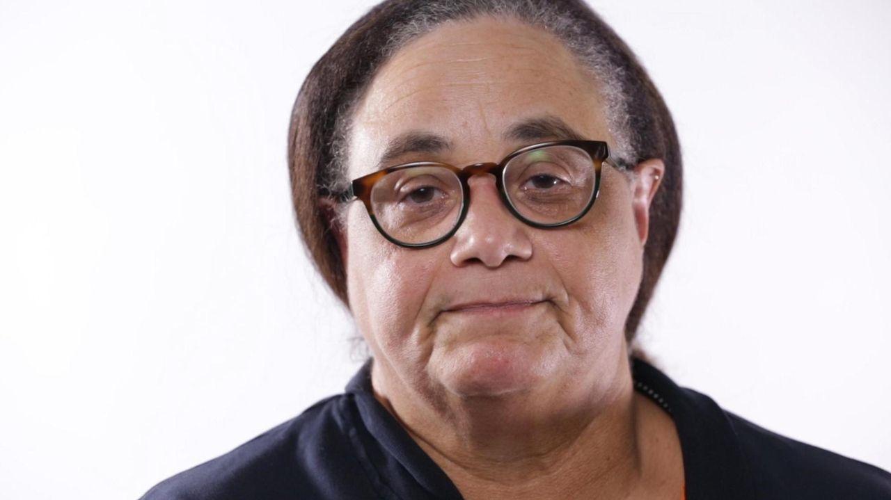 Newsday columnist Joye Brown speaks Tuesday on the