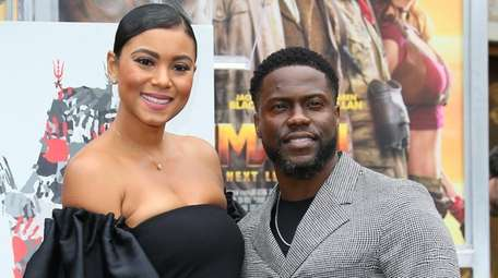 Kevin Hart and wife Eniko Parrish Hart attend