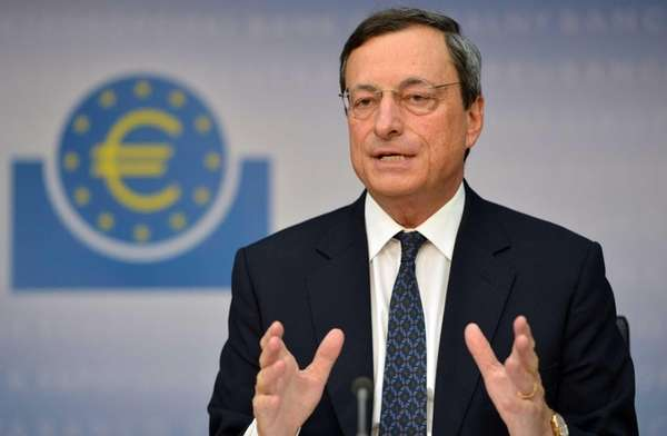 Mario Draghi, president of the European Central Bank,
